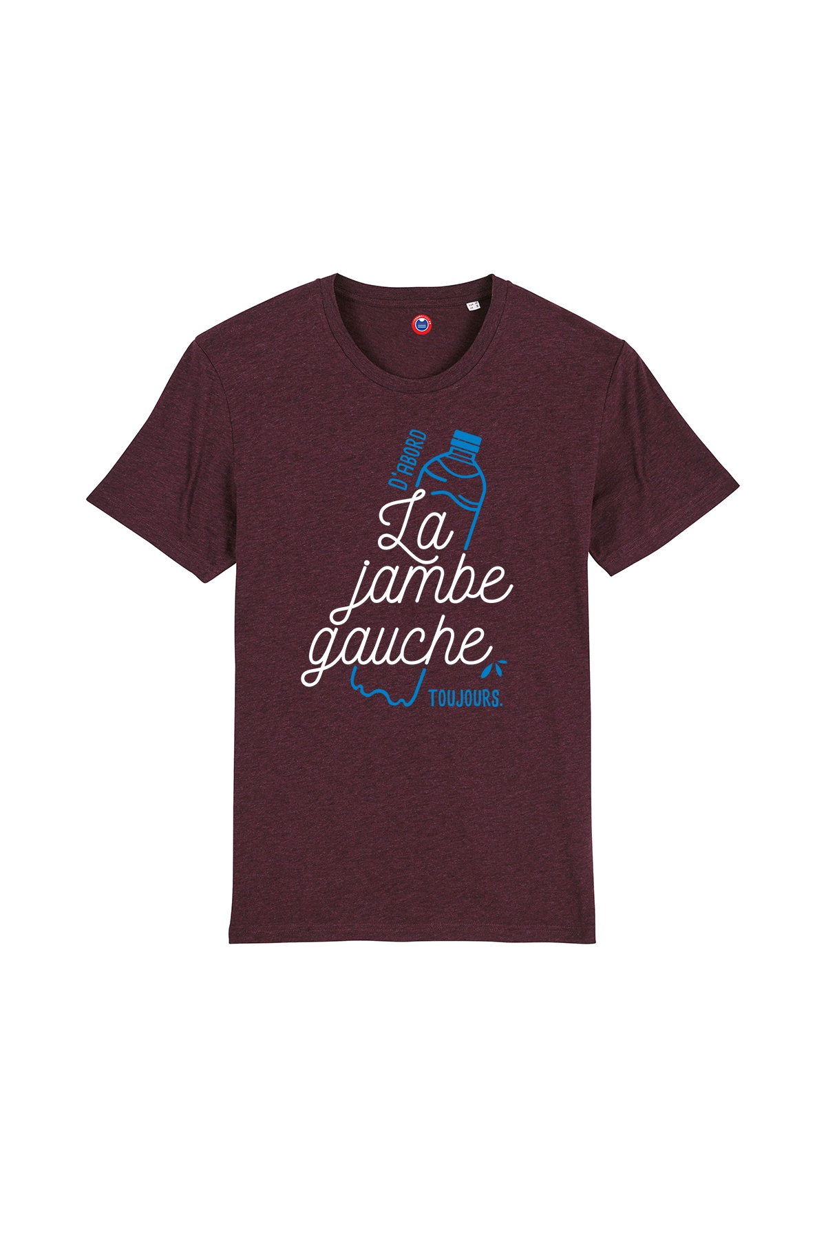 T-shirt La Jambe Gauche, toujours - Taille S - Soldes