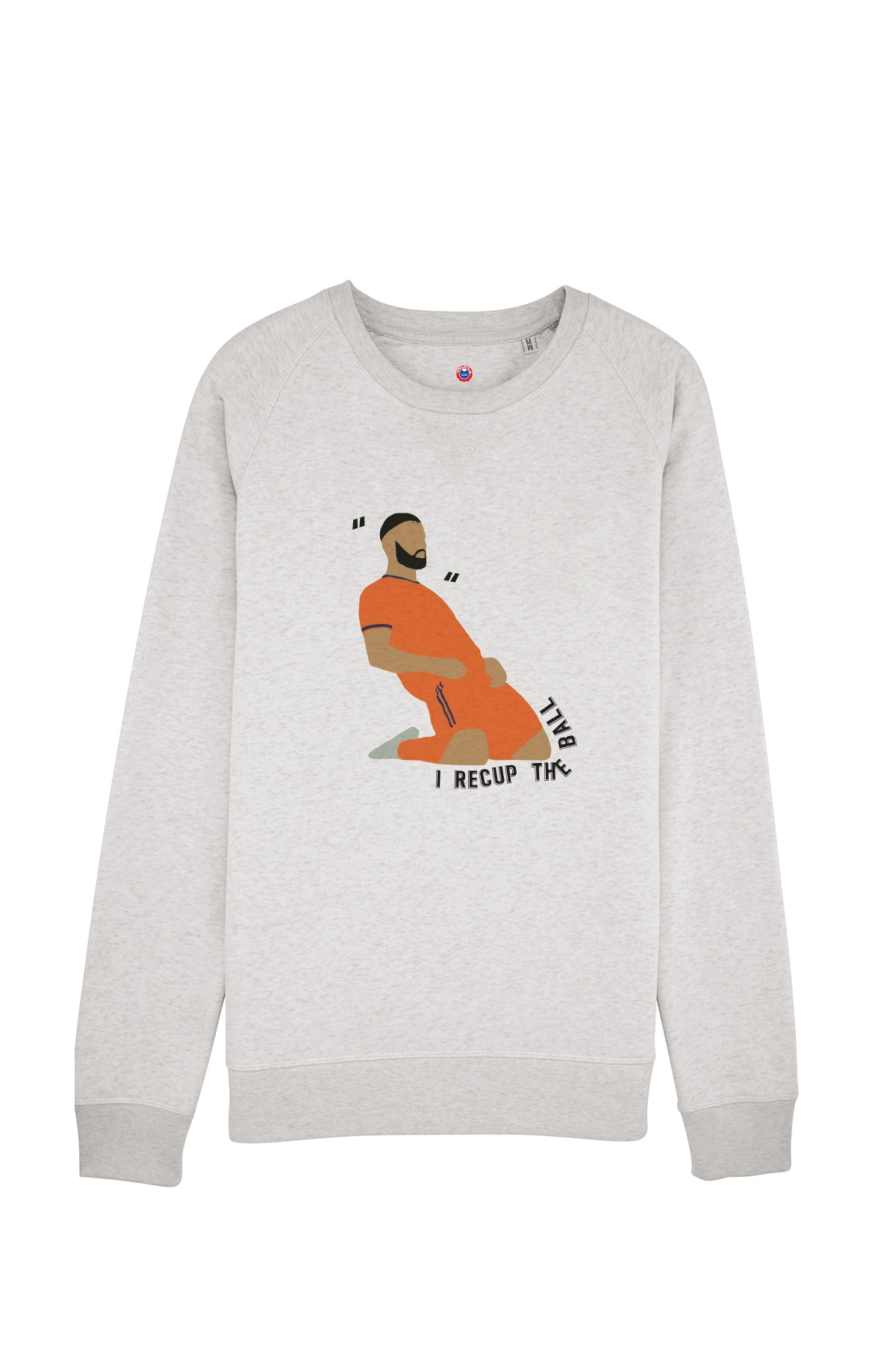 Sweat I Recup the Ball - Taille M - Soldes