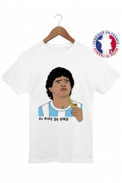 T-shirt El Pipe de Oro - 100% Made in France