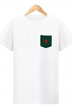 T-shirt à poche Red Star