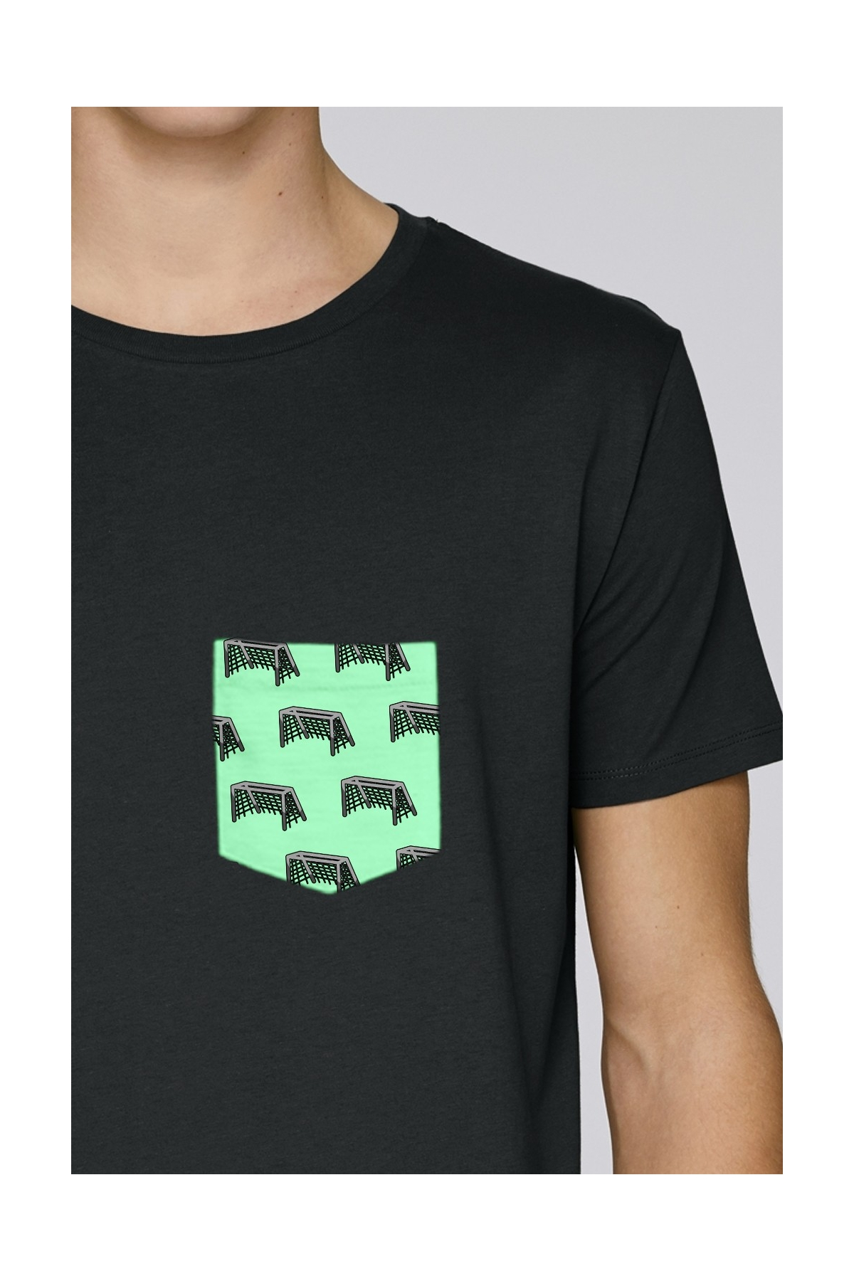 T-shirt But Football Goals - Poche Coton Bio