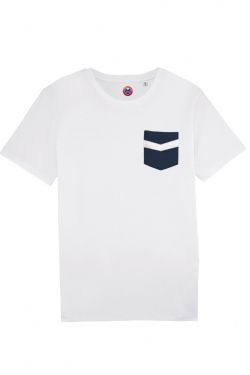 T-shirt à poche Bordeaux
