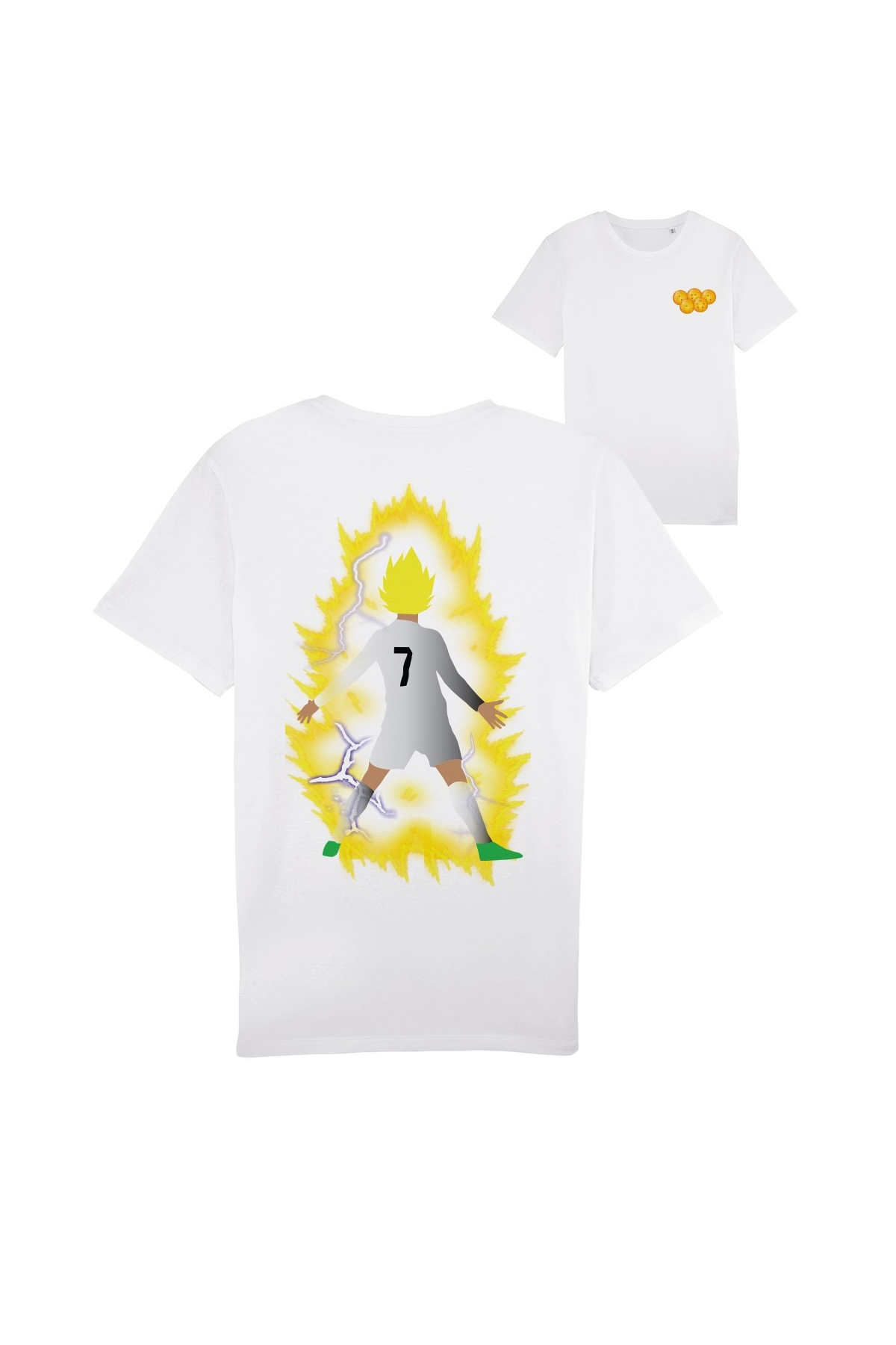 T-shirt Cristiano Ronaldo Dragon Ball Z