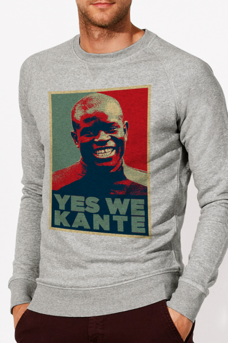 Sweat Gris chiné Kanté - Coton Bio